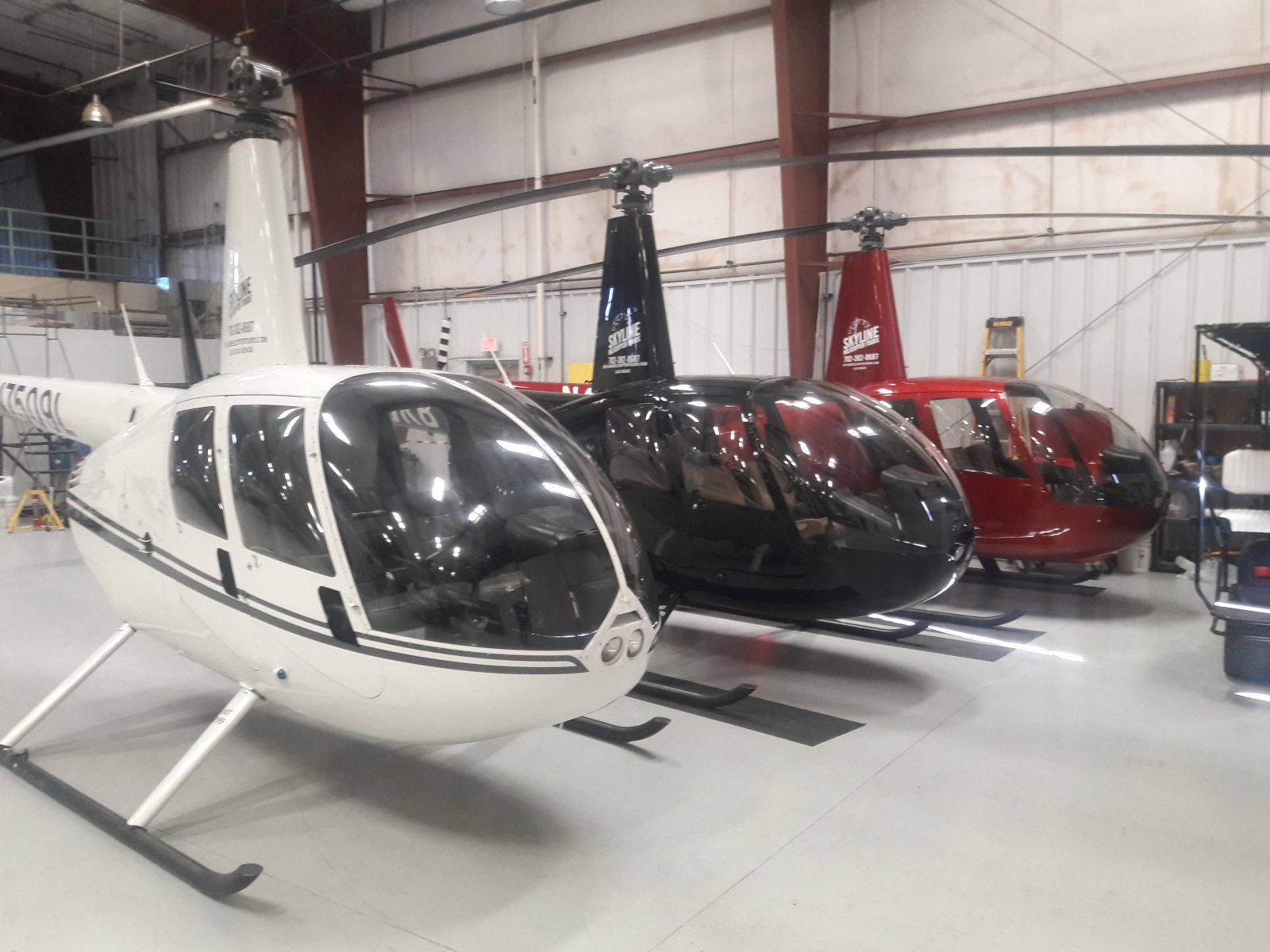 3 Helicopters, Skyline Helicopter Tours Las Vegas