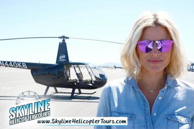 Kristen Taekman Helicopters Las Vegas