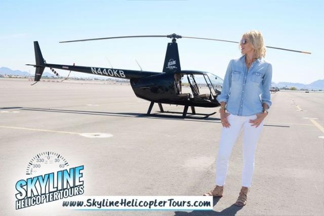 Kristen Taekman Skyline Helicopter Tours