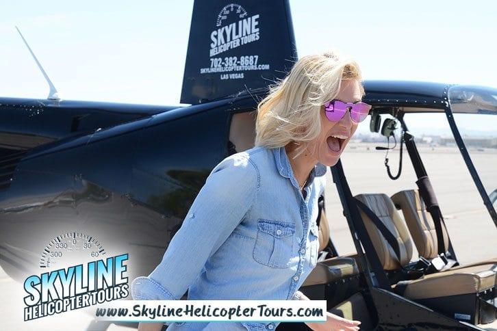 Kristen Taekman Helicopter Tours