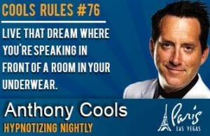 Anthony Cools Show Tickets