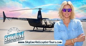 Kristen Taekman's Helicopter Tour with Skyline Helicopter Tours
