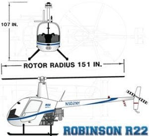 Robinson R22 Helicopter Las Vegas